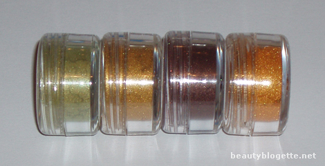 Face Candy Couture - Dew, Golden Moon, Burnt Leaf, Squash