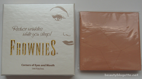 Frownies - Corner of Eyes and Mouth Patches