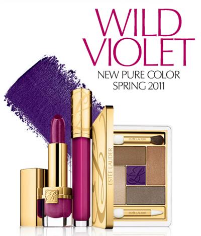 Estee Lauder Spring 2011 Make-up Collection ~ Wild Violet