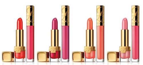 Estee Lauder Spring 2011 Make-up Collection ~ Wild Violet - Pure Color Long Lasting Lipstick & Lip Gelee