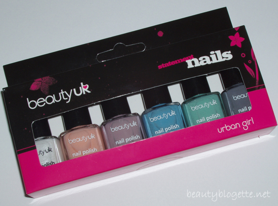 beautyUK - Nail Gift Set Urban Girl
