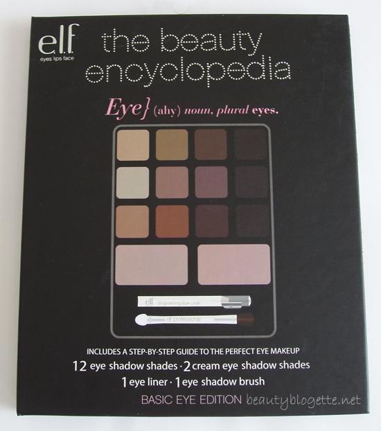 e.l.f. - Beauty Encyclopedia Basic Eyes