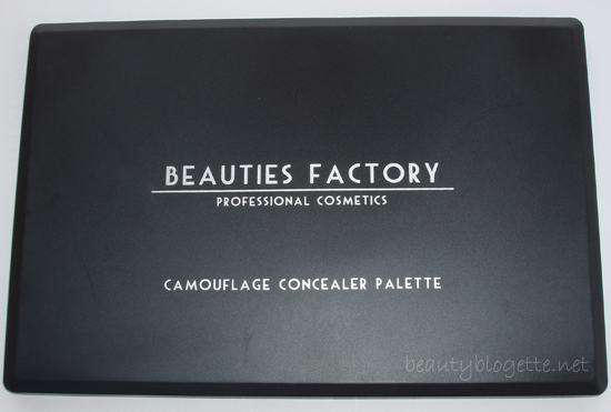 Beauties Factory UK - Camouflage Concealer Palette