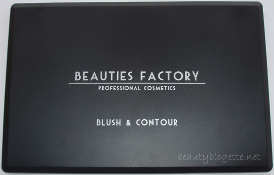 Beauties Factory UK - Blush & Contour Palette