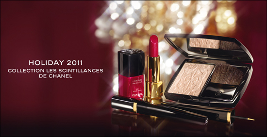 Chanel Holiday 2011 Collection ~ Les Scintillances de Chanel