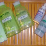 Garnier Essentials collection, Nuxe Micellar Foam Cleanser & Balea Urea SOS-Serum