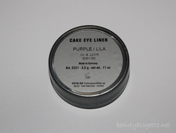 Kryolan Cake Eye Liner – Purple