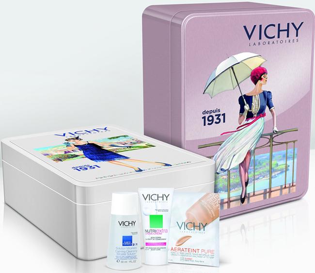 Виши (Vichy): старые афиши с рекламой города