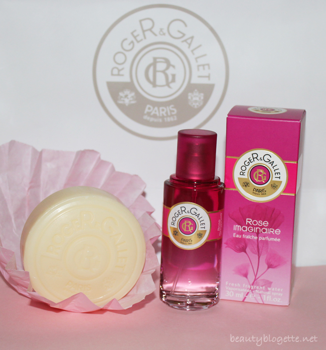 Roger & Gallet Rose Imaginaire parfemska vodica & Rose sapun