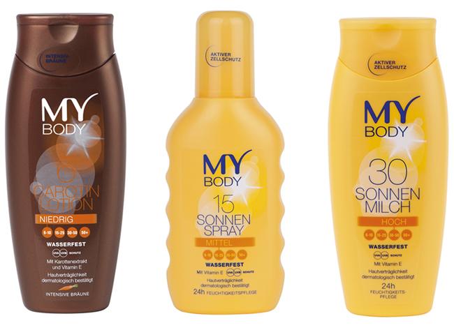 BIPA - MY BODY proizvodi za zaštitu od sunca