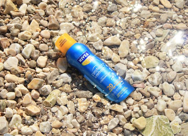 NIVEA Protect & Refresh osvježavajući sprej za sunčanje