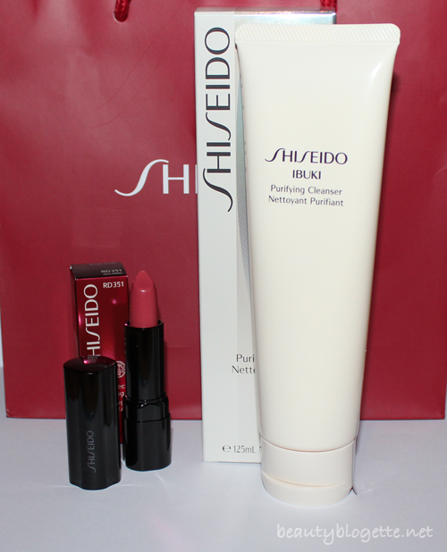 Shiseido goodies