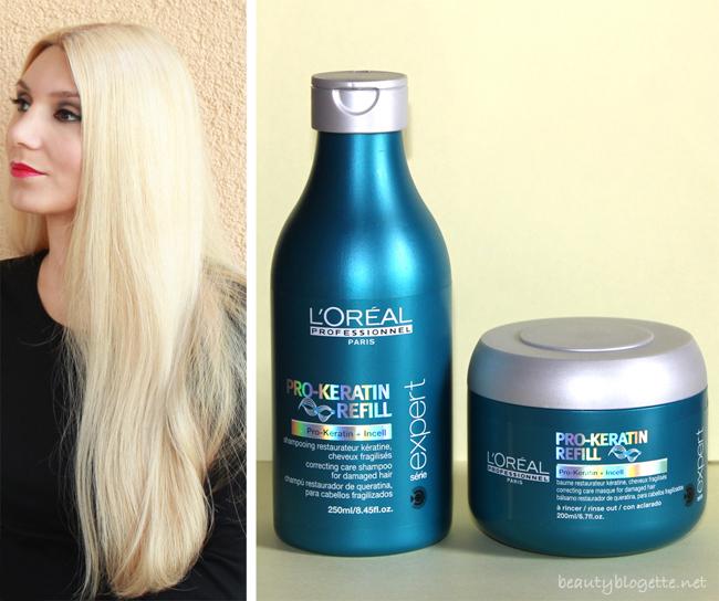 L'Oréal Professionnel Pro Keratin Refill shampoo & masque