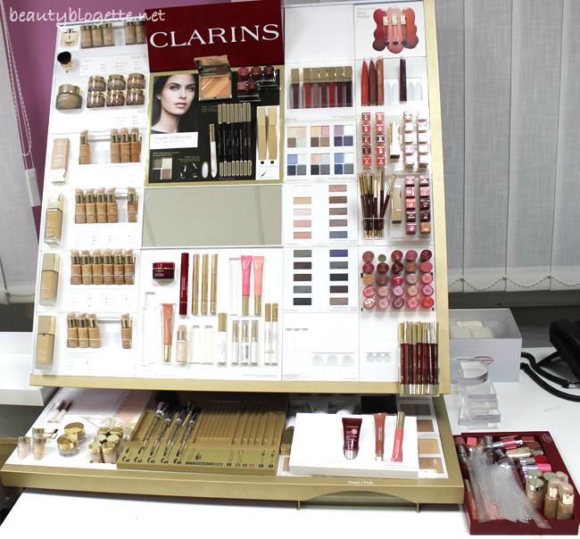 Clarins event