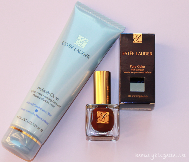 Rođendansko darivanje #3 - Estée Lauder Perfectly Clean Multi-Action Foam Cleanser/Purifying Mask & Pure Color Nail Lacquer