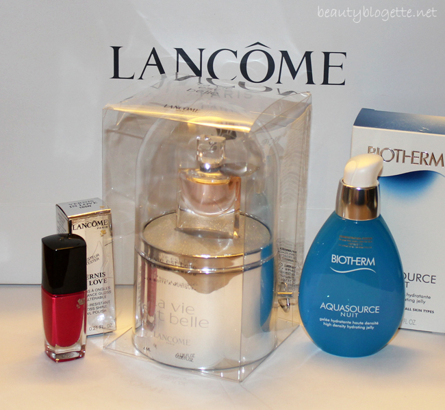 Xmas new in - Biotherm & Lancôme