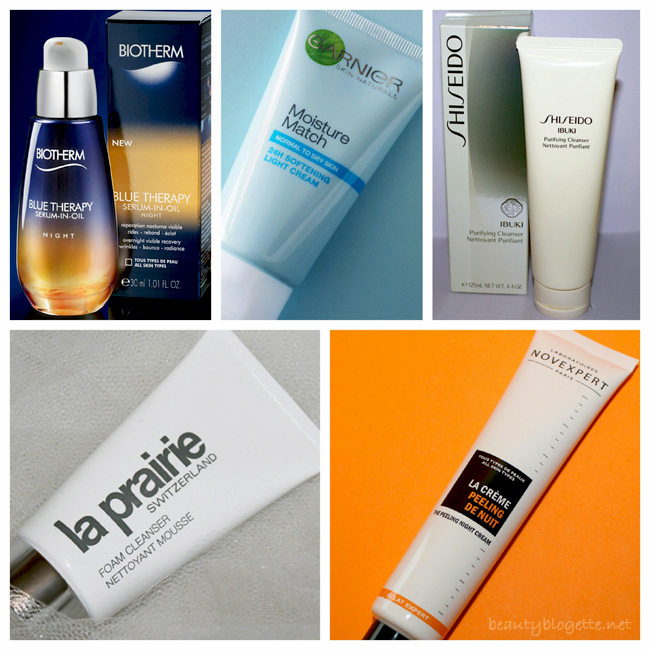 The best 2013 products - skincare