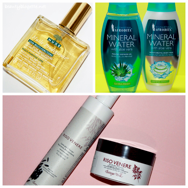 The best 2013 products - body care