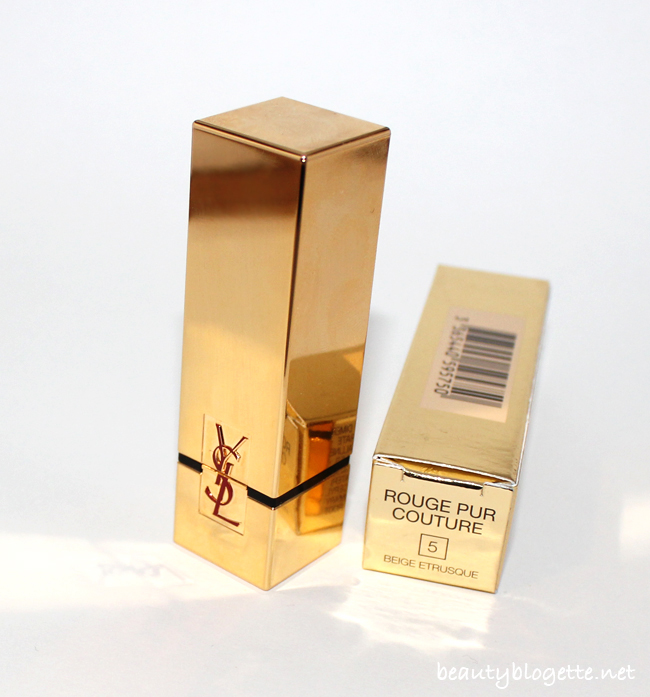 YSL Rouge Pur Couture 5 Beige Etrusque