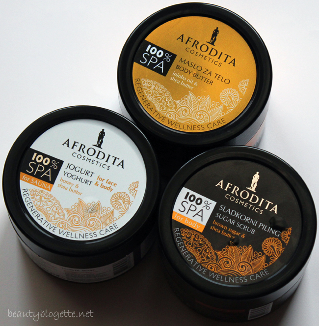 Kozmetika Afrodita 100% SPA linija