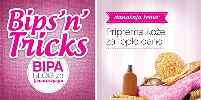 BIPA - Priprema kože za tople dane