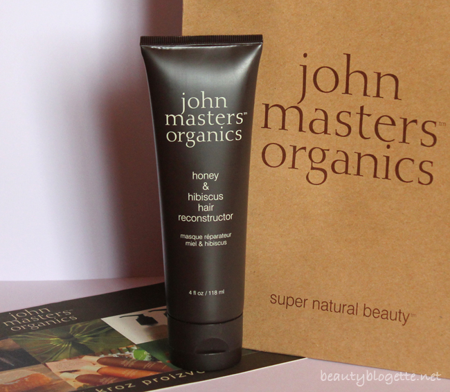 John Masters Organics Hair Reconstructor mask of honey and hibiscus