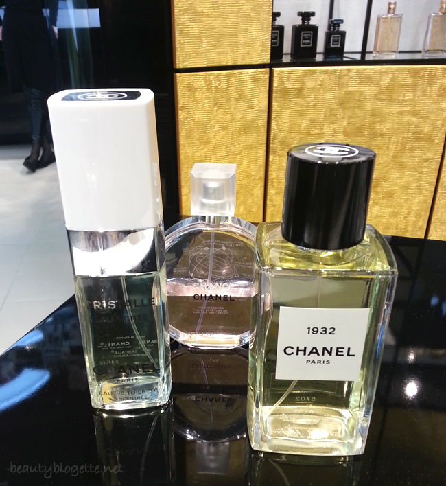 Chanel 1932, Cristalle i Chance mirisi