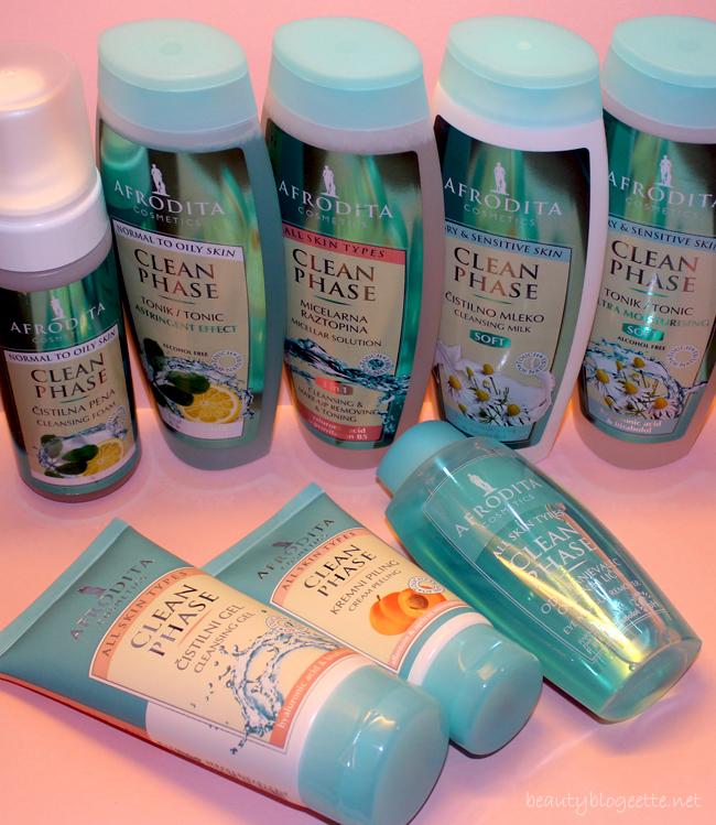 Kozmetika Afrodita Clean Phase