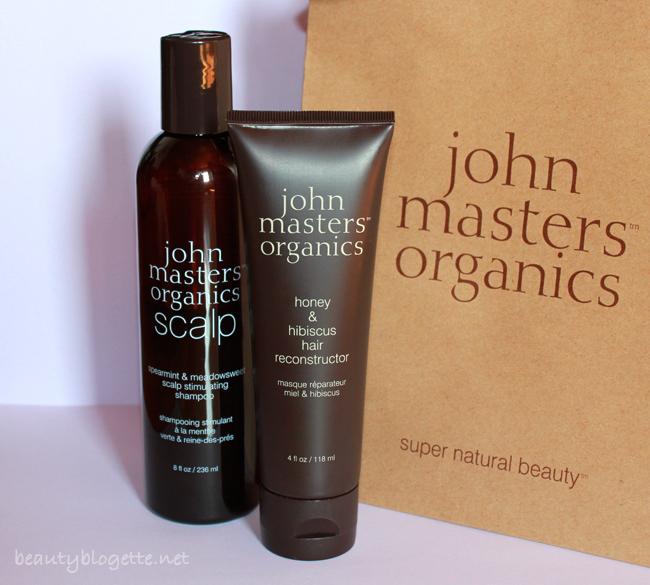 John Masters Organics Rekonstruktor maska i Scalp šampon