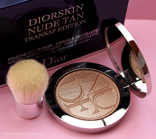 Dior Dorskin Nude Tan Transat Edition Golden Shimmer Powder