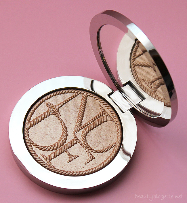 Dior Diorskin Nude Tan Transat Edition Golden Shimmer Powder