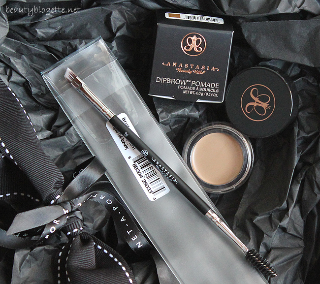 Anastasia Beverly Hills Dipbrow Pomade Blonde & Large Synthetic Duo Brush #12
