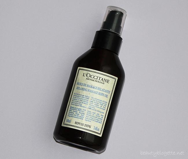 L'Occitane Aromakologija - Opuštajuće ulje za masažu