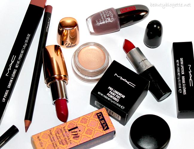 MAC Cosmetics i PUPA Milano