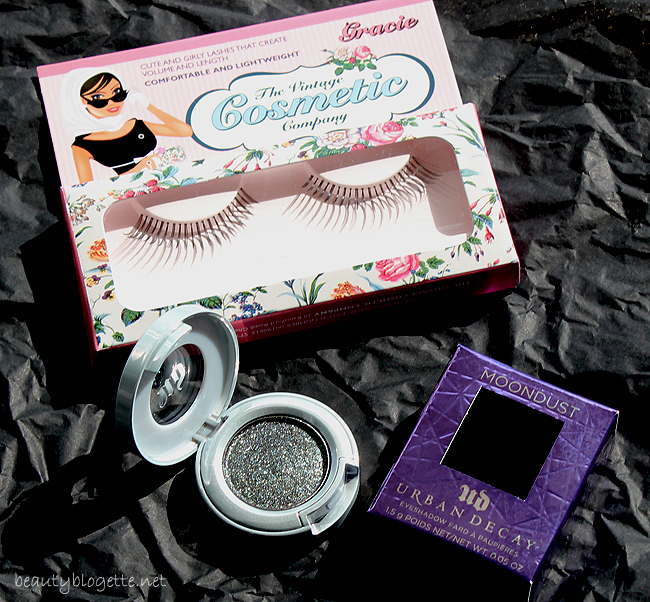 Urban Decay Moondust sjenilo Zodiac i The Vintage Cosmetic Company Gracie umjetne trepavice