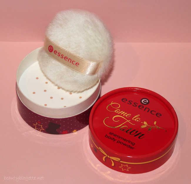 essence come to town - shimmering puder za tijelo