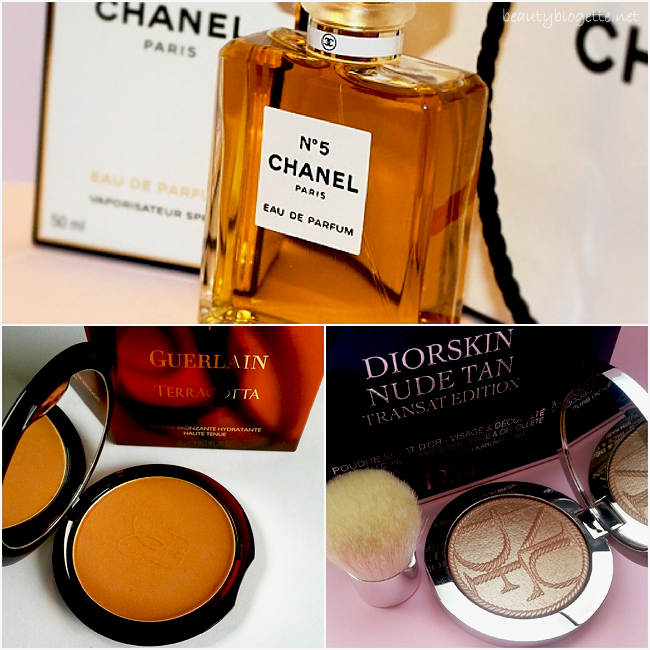 The best of 2014: Chanel N°5, Guerlain Terracotta & Dior Diorskin Nude Tan Transat Edition Golden Shimmer Powder