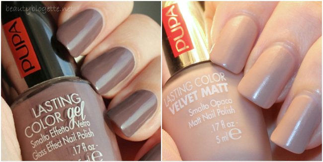 The best of 2014: Pupa Milano nail polishes 026 California Soul & 005 Nude