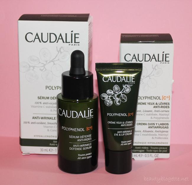Caudalie Polyphenol [C15] Serum protiv bora i Krema za područje oko očiju i usana