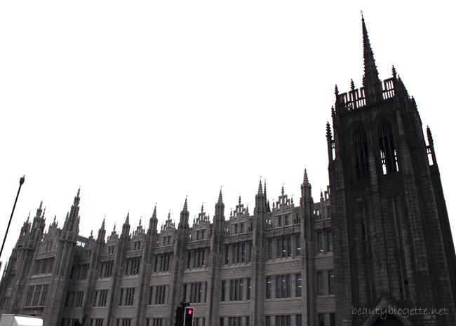 Travelogue: Aberdeen, Scotland - Marischal College, Greyfriars Church