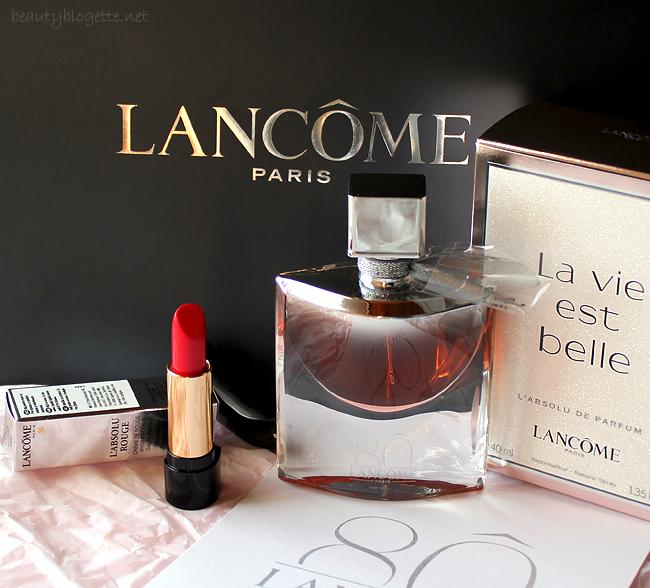 Lancôme La vie est belle i L'Absolu Rouge