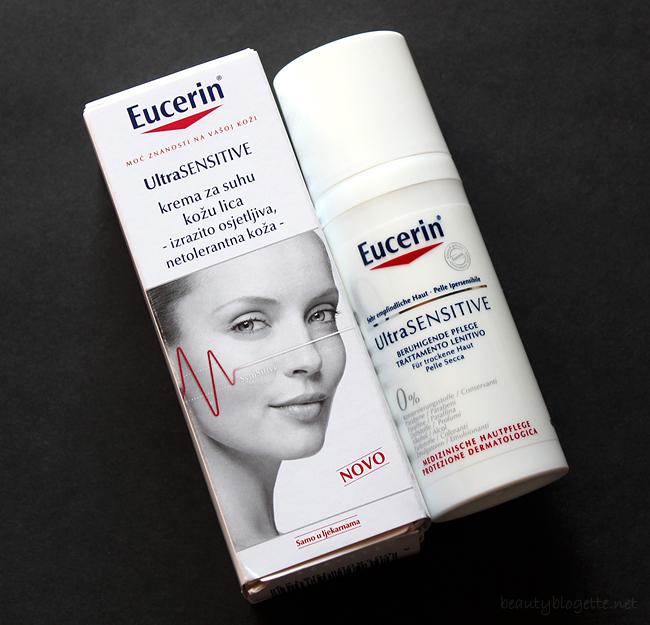 Eucerin UltraSENSITIVE krema za suhu kožu lica