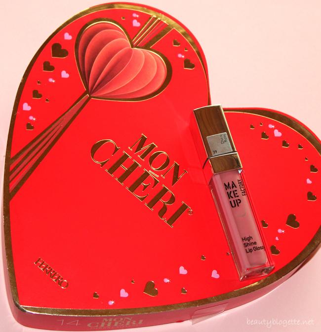 Ferrero Mon Chéri i Make up Factory sjajilo