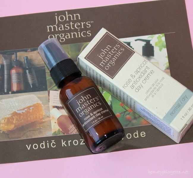 John Masters Organics Antioksidanska krema od ruže i ulja koštica marelice