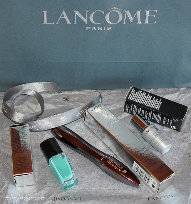 Lancôme Hypnôse Volume-à-porter maskara, Advanced Génifique Yeux Light-Pearl serum i In Love Vert Tuileries lak za nokte