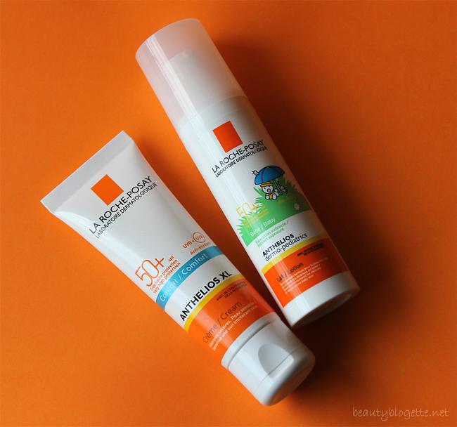 La Roche-Posay Anthelios dermo-pediatrics mlijeko SPF 50+ i Anthelios XL krema za lice SPF 50+