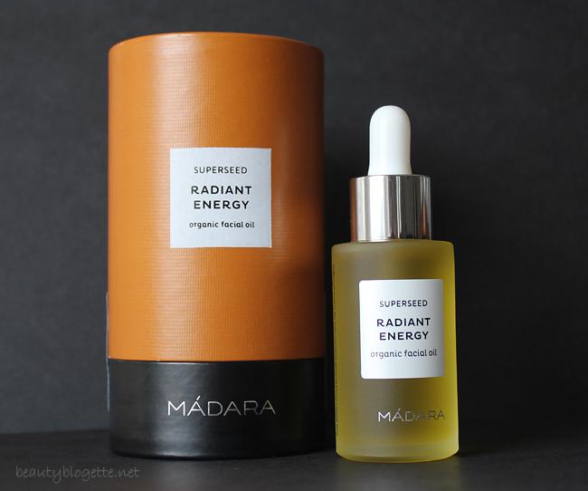 MÁDARA Radiant Energy organsko ulje za lice
