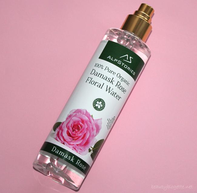 AlpStories 100% organska cvjetna voda damask ruže
