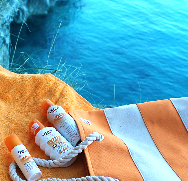 Eucerin SUN Dry touch aerosol SPF 50, Oil control dry touch gel-krema SPF 30 & Sprej za zaštitu od sunca za djecu SPF 50+
