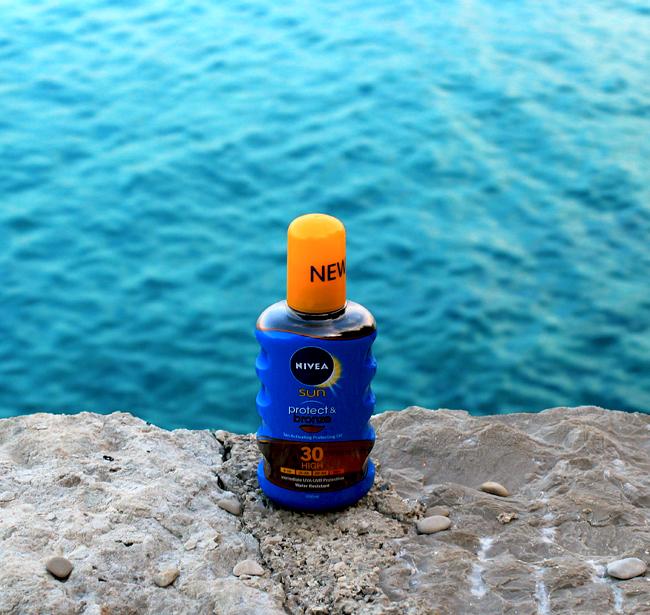 NIVEA Sun Protect & Bronze ulje u spreju SPF 30
